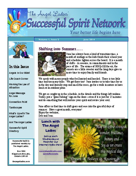 Successful Spirit Webzine June Issue Volume 1 Issue 2