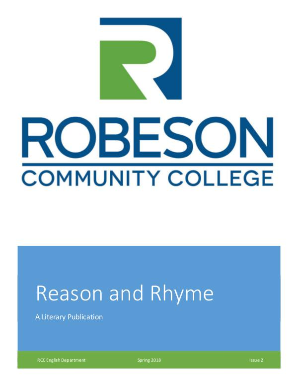 Reason and Rhyme Reason and Rhyme_2018SP