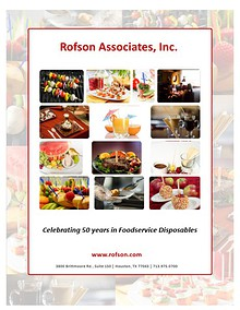 Rofson Associates, Inc. Product Catalog