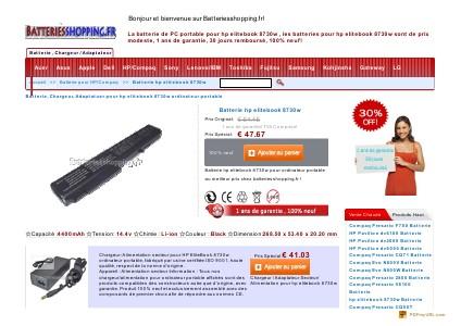 Batterie,chargeurs,Adaptateurs , Batteries pour outillages électriques Batterie hp elitebook 8530p,hp elitebook 8530p Cha
