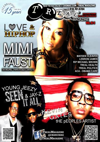 Treal Magazine 15-4 jay-z jeezy love & hip hop lebron kevin g