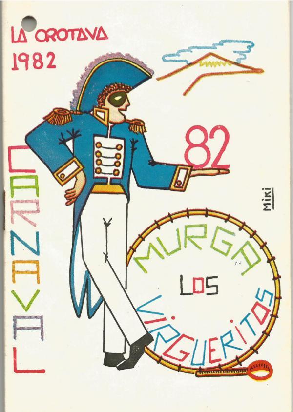 Cancioneros de Los Virgueritos Año 1982