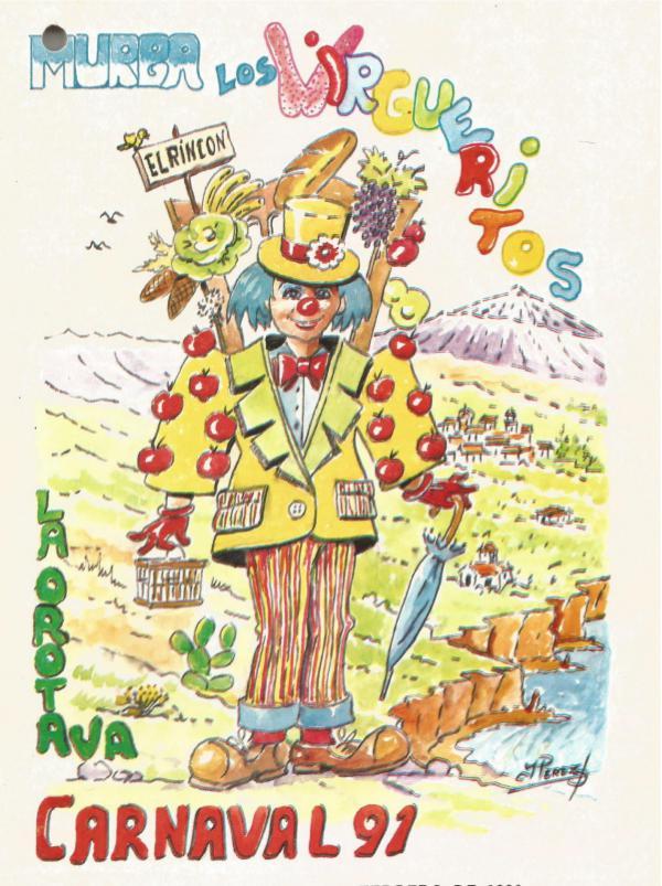 Cancioneros de Los Virgueritos Año 1991