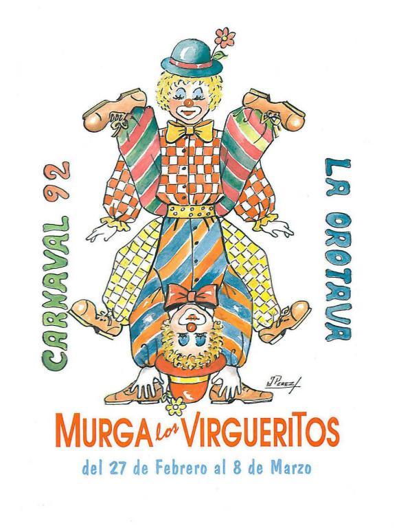 Cancioneros de Los Virgueritos Año 1992