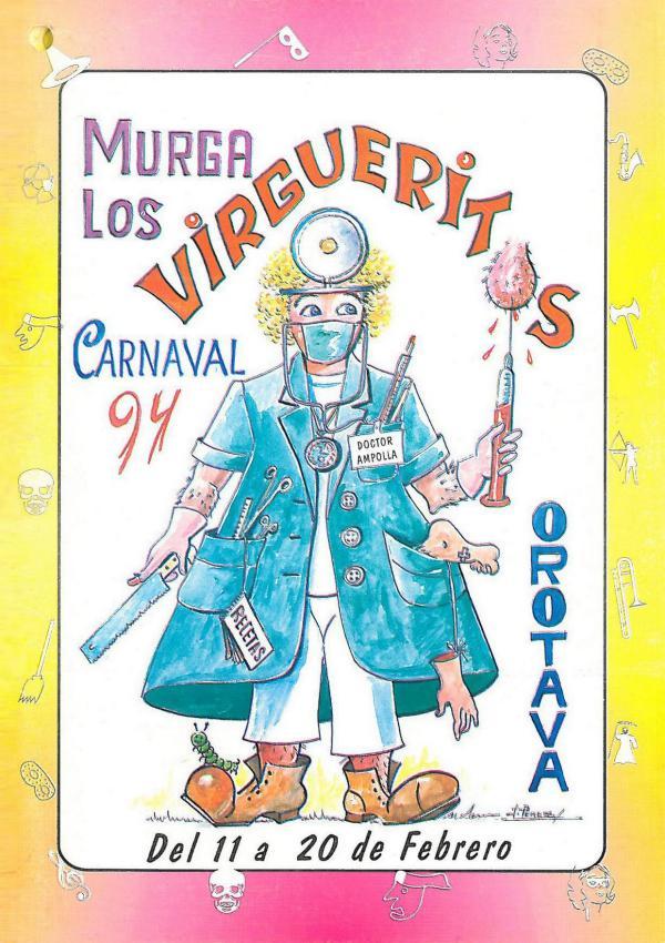 Cancioneros de Los Virgueritos Año 1994