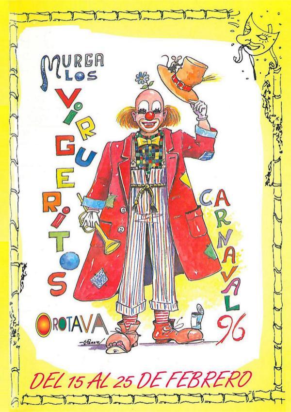 Cancioneros de Los Virgueritos Año 1996