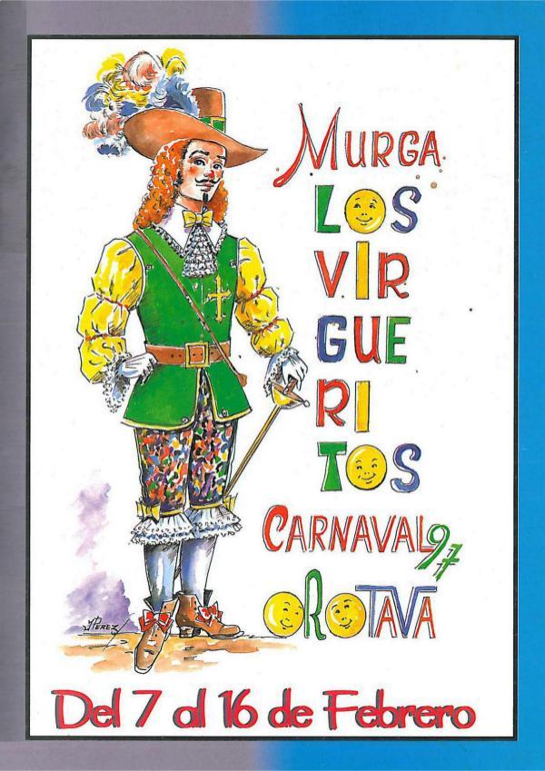 Cancioneros de Los Virgueritos Año 1997