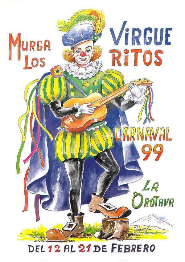 Cancioneros de Los Virgueritos Año 1999