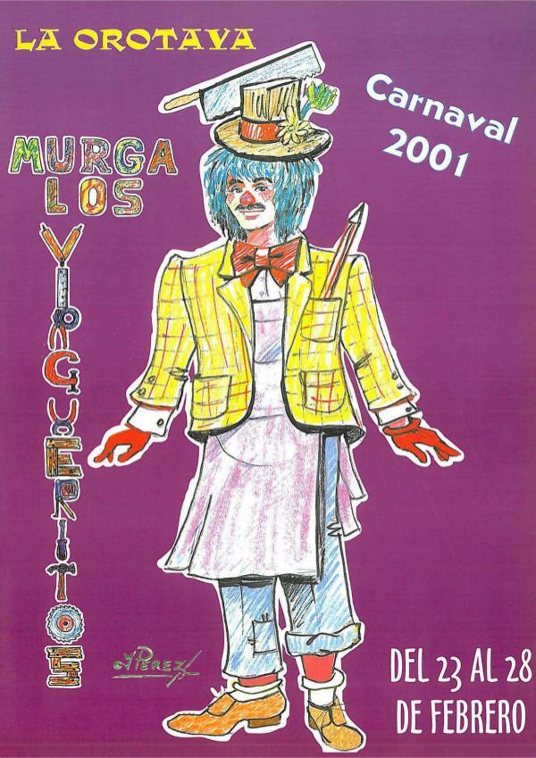 Cancioneros de Los Virgueritos Año 2001