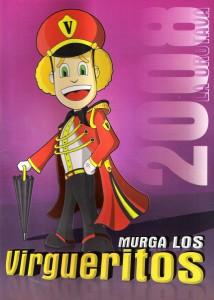 Cancioneros de Los Virgueritos Año 2008