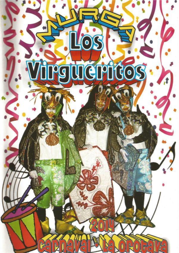 Cancioneros de Los Virgueritos Año 2014