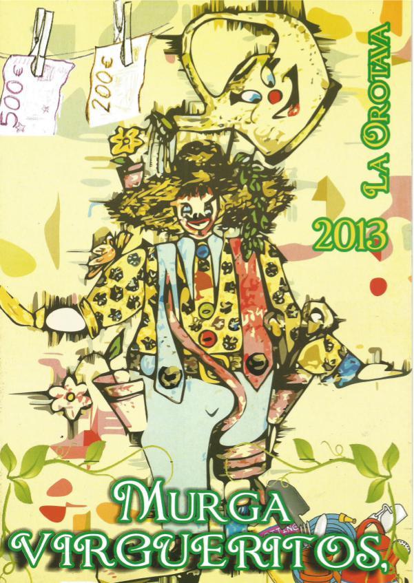 Cancioneros de Los Virgueritos Año 2013