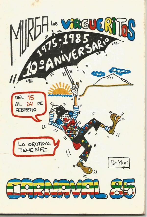 Cancioneros de Los Virgueritos 1985