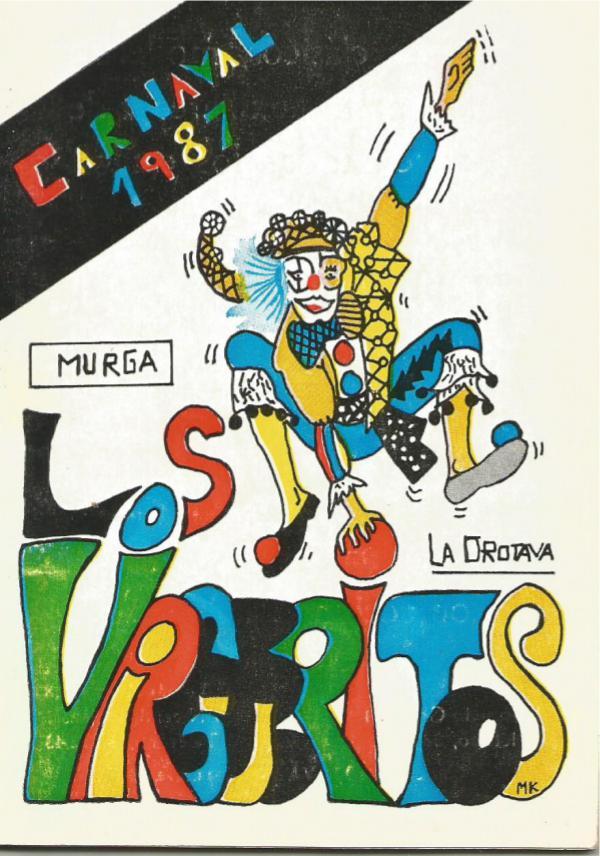 Cancioneros de Los Virgueritos Año 1987