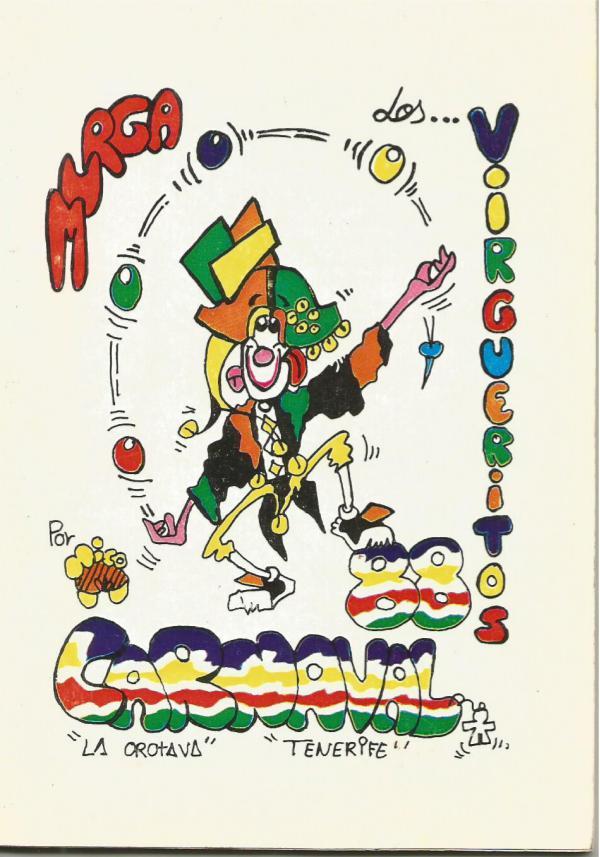 Cancioneros de Los Virgueritos Año 1988