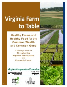 Virginia Farm to Table Plan Virginia Farm to Table Plan