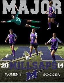 2014 Millsaps Majors Women's Soccer Media Guide