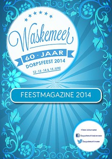 Feestmagazine Dorpsfeest Waskemeer
