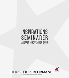 Seminarer til inspiration fra House of Performance