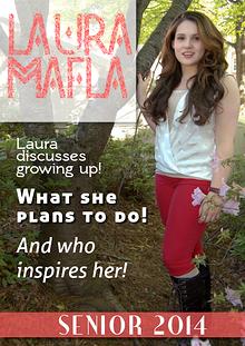 Laura Mafla Senior Scrapbook