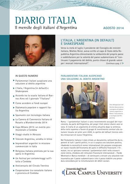 Diario Italia Agosto 2014