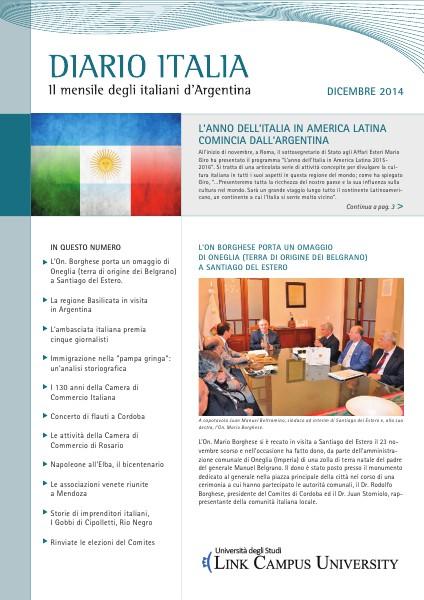 Diario Italia Dicembre 2014