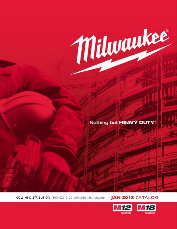 Collins Distribution Catalog CD Catalog_Jan2018_MilwaukeeTools