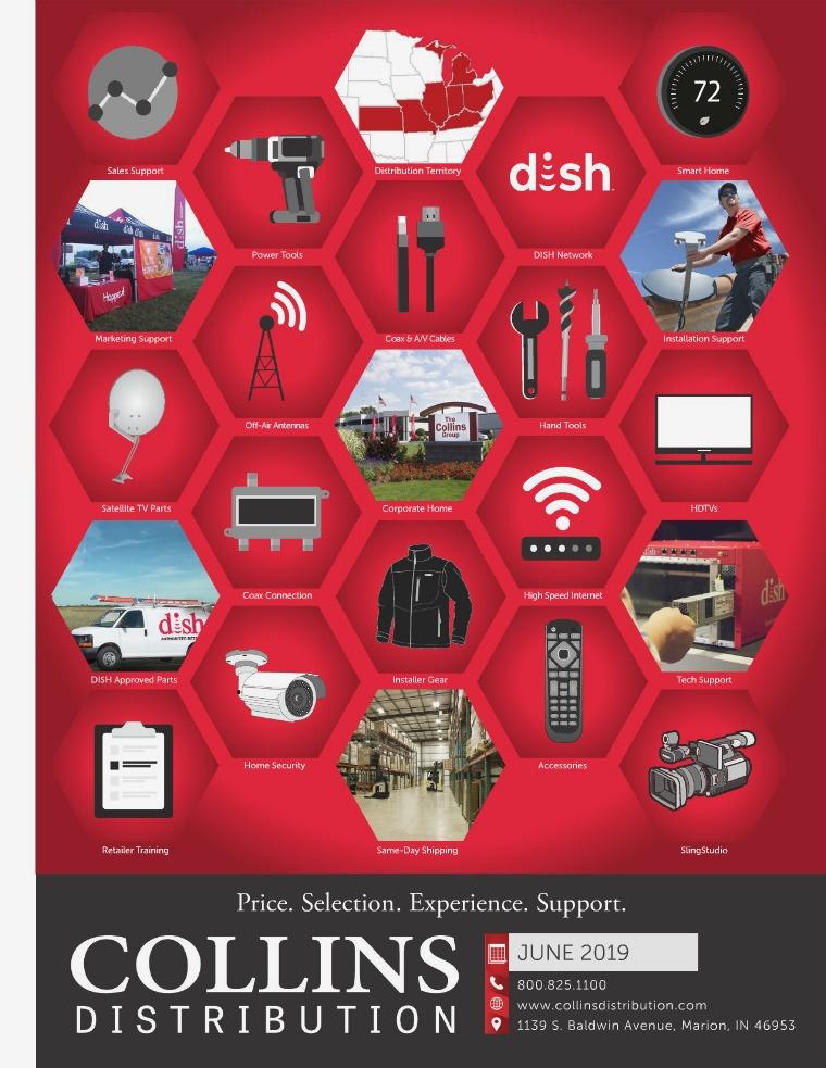 Collins Distribution Catalog June 2019 Catalog - CD