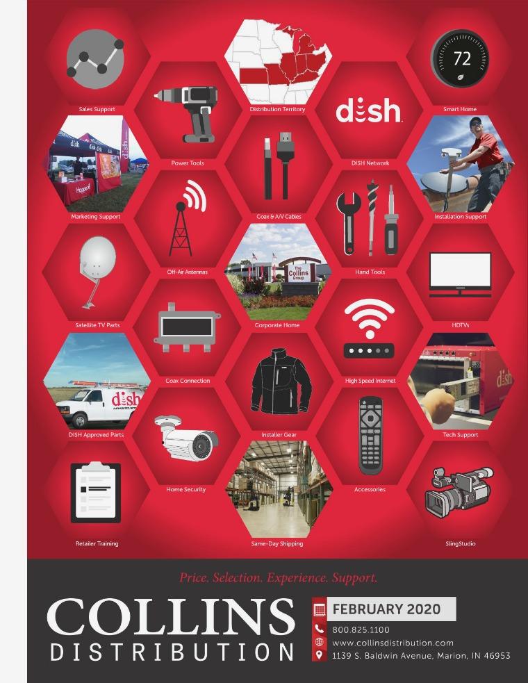 Collins Distribution Feb 2020 Catalog - CD
