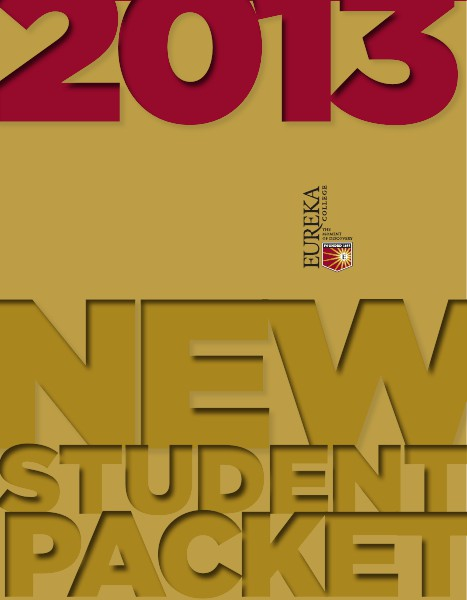 Eureka College New Student Packet 2013-14