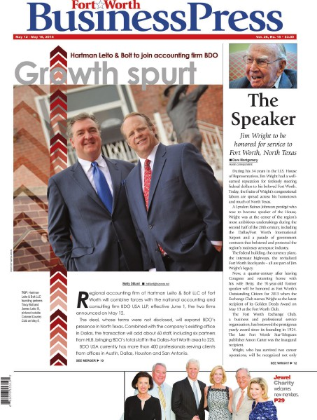 Fort Worth Business Press, May 12, 2014 Vol. 26, No. 18