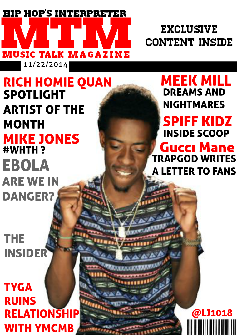 Music Talk Magazine (Hip Hop's Interpreter) 1