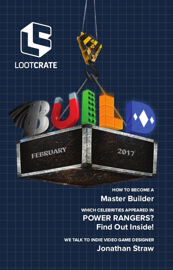 Loot Crate Magazine February 2017 Build