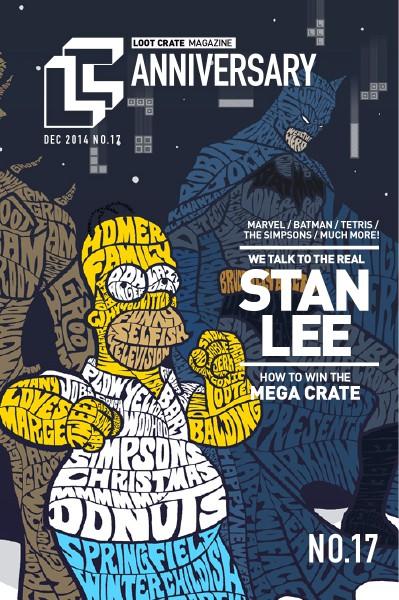 Loot Crate Magazine December 2014