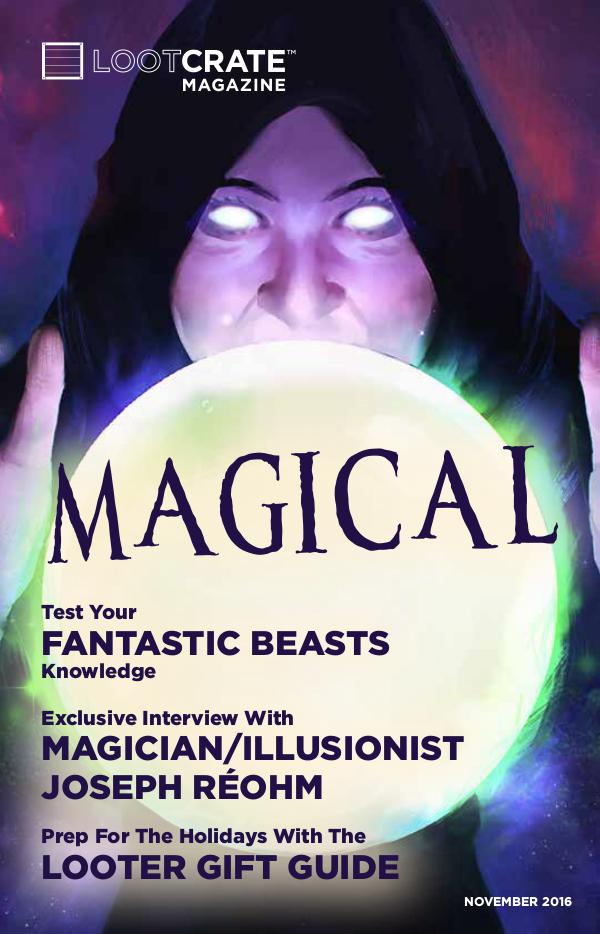 November 2016 Magical