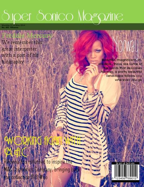 Super Sonico Magazine May. 2014