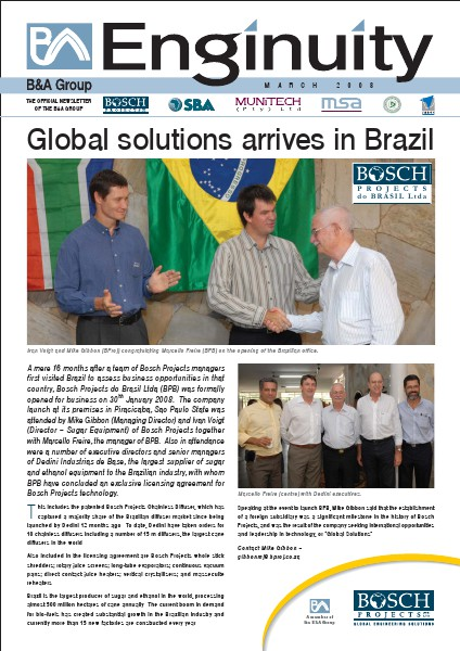 Bosch Holdings Enginuity March 2008