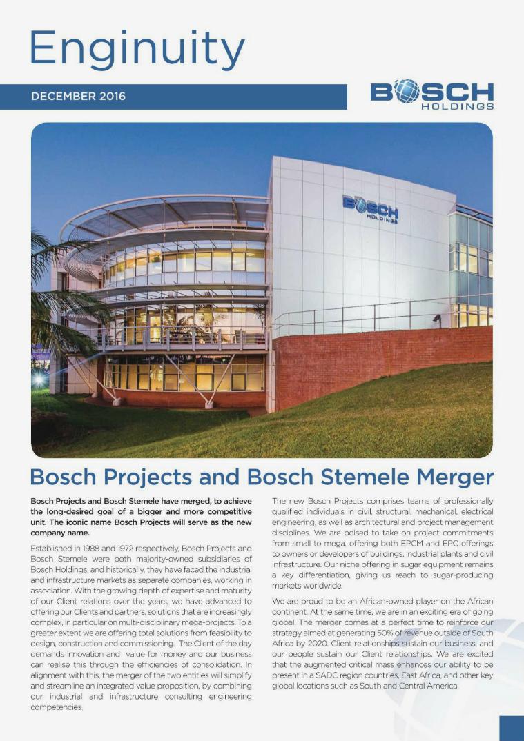 Bosch Holdings Enginuity December 2016