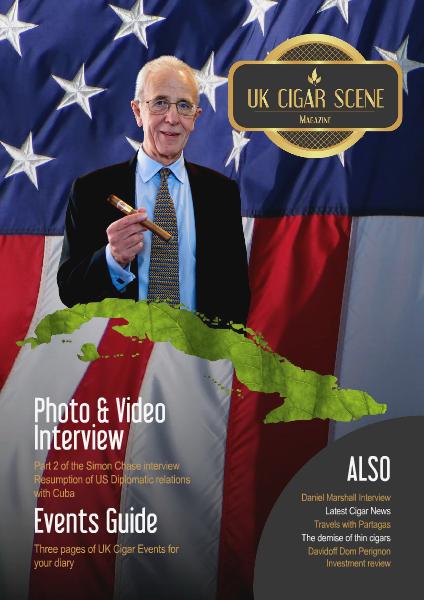 UK Cigar Scene Magazine February Issue 2