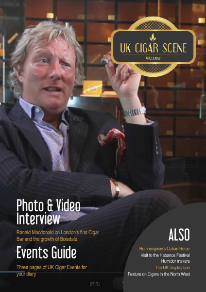 UK Cigar Scene Magazine March Issue 3