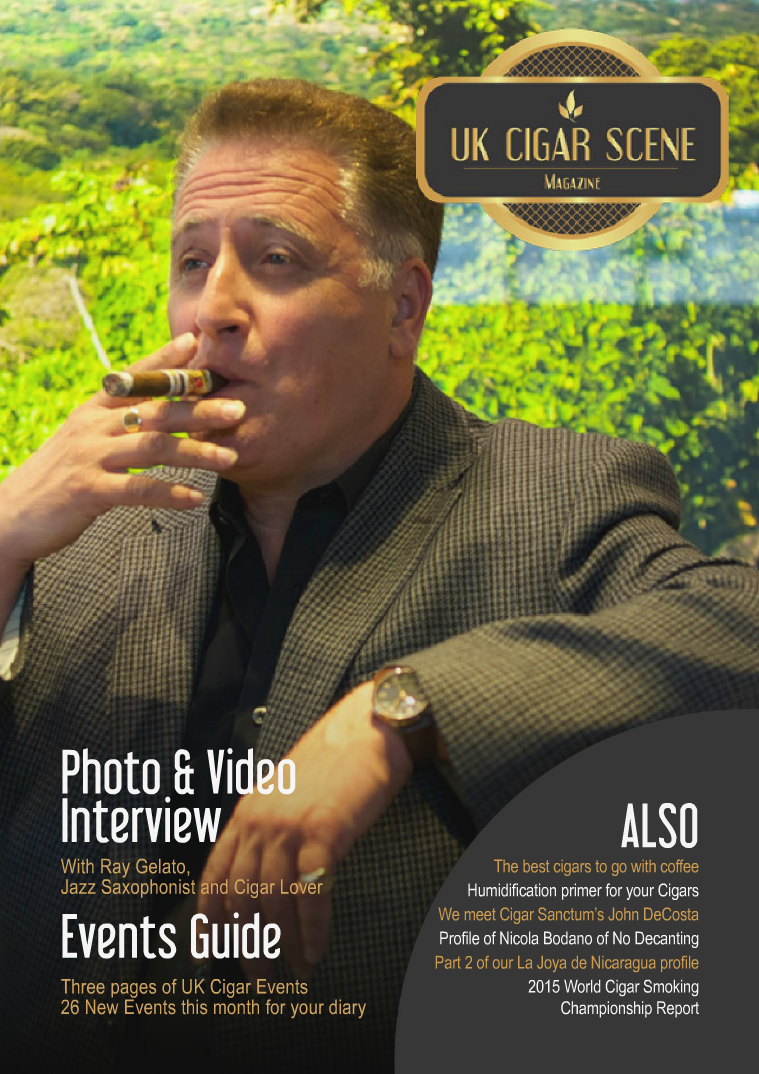 UK Cigar Scene Magazine September Issue 9