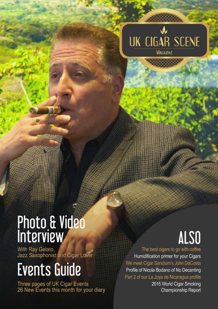UK Cigar Scene Magazine September Issue 9
