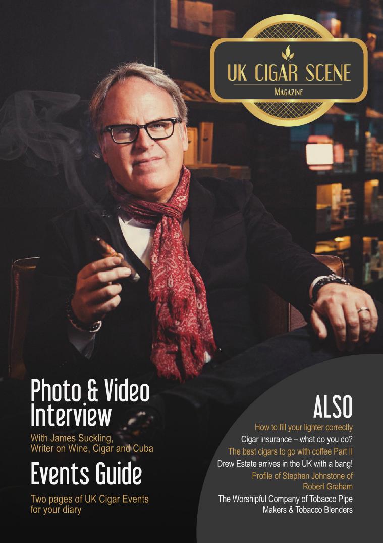 UK Cigar Scene Magazine October Issue 10