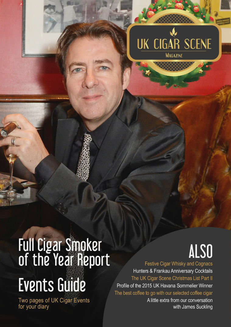 UK Cigar Scene Magazine December  Issue 12