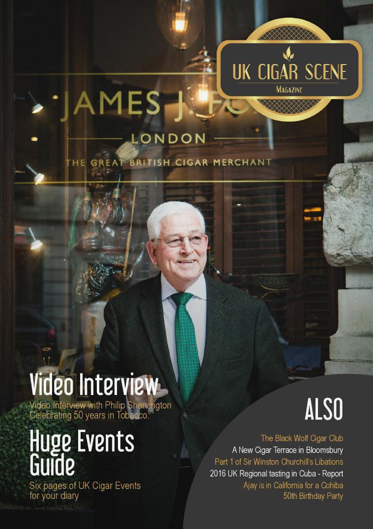 UK Cigar Scene Magazine May Issue 17