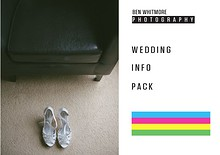 Ben Whitmore Photography 2014 Wedding Info Pack