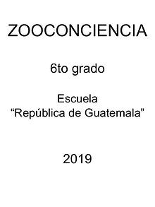 Zooconciencia