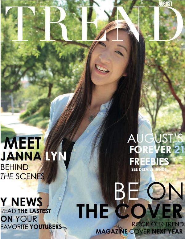 TREND MAGAZINE Anniversary Issue