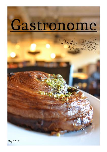 GASTRONOME 1