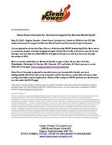 Test Drive 8/14/2014 $CPOW